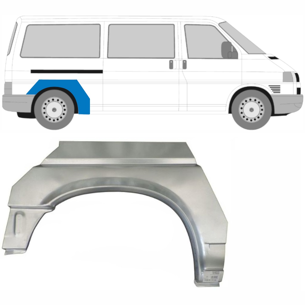 VW T4 1990-2003 LWB REAR WHEEL ARCH PANEL / RIGHT