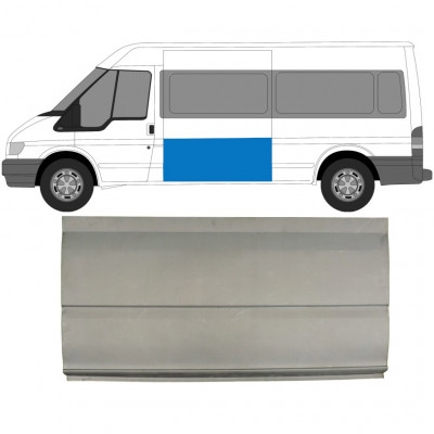 FORD TRANSIT 2000- M/LWB SIDE REPAIR OUTER SKIN PANEL