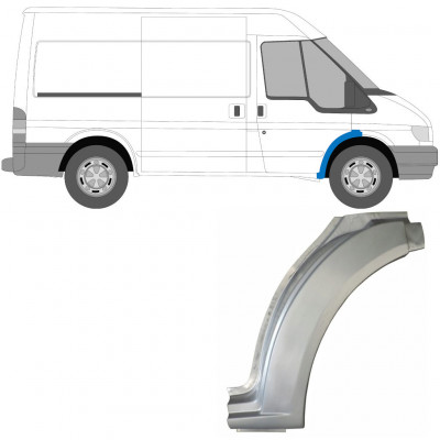 FORD TRANSIT 2000-2013 FRONT WHEEL ARCH / RIGHT