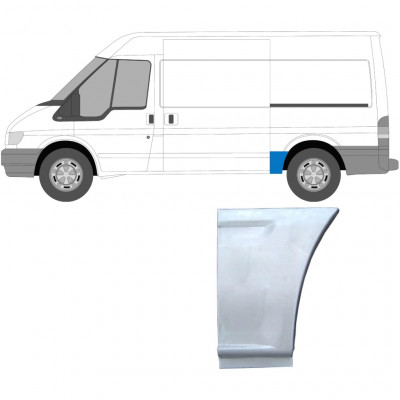 FORD TRANSIT 2000-MWB REAR WING PANEL / LEFT