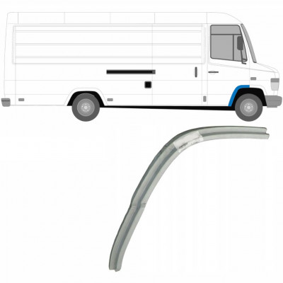 MERCEDES VARIO 1996- FRONT WHEEL ARCH / RIGHT