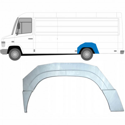 MERCEDES VARIO 1996- REAR WHEEL ARCH / LEFT