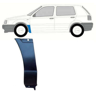 VW GOLF 3 1991-1998 FRONT WING REPAIR PANEL / LEFT