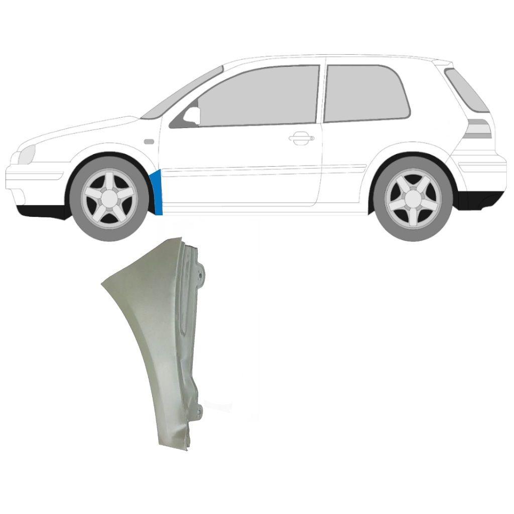 VW GOLF MK4 1997-2006 FRONT WING REPAIR PANEL / LEFT LH