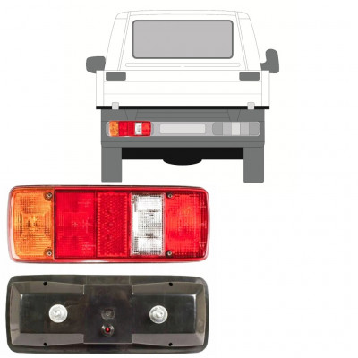 VW T4 1990- CHASSIS CONTAINER REAR LAMP LIGHT / LEFT