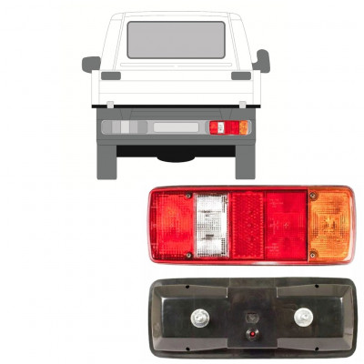 VW T4 1990- CHASSIS CONTAINER REAR LAMP LIGHT / RIGHT
