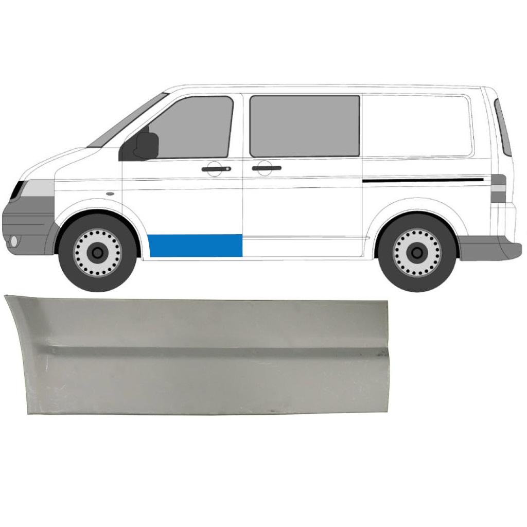 VW T5 2003-2015 FRONT DOOR SKIN PANEL / LEFT