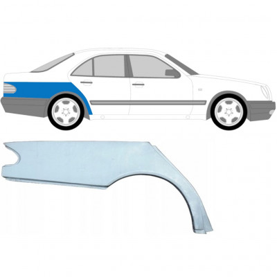 MERCEDES E-CLASS 1995-2003 REAR WING PANEL / RIGHT