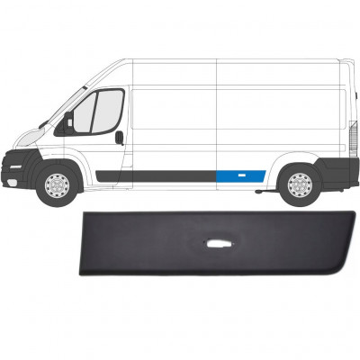 FIAT DUCATO 2006- REAR MOULDING TRIM PANEL WITH LAMP HOLE / LEFT