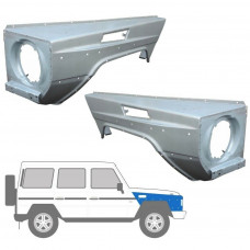 MERCEDES G CLASS W461/463 1979- FRONT WINGS SET x 2 (Pair)