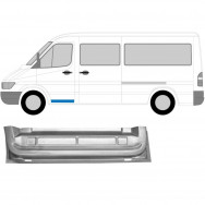 MERCEDES SPRINTER VW LT 1995-2006 FRONT DOOR INNER SECTION REPAIR PANEL / LEFT