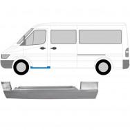 MERCEDES SPRINTER VW LT 1995-2006 FRONT SILL DOORSTEP REPAIR PANEL / LEFT LH