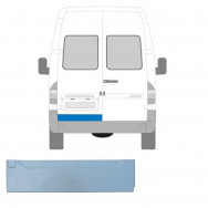 MERCEDES SPRINTER VW LT 1995-2006 LOW REAR DOOR OUTER REPAIR PANEL / LEFT LH