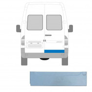 MERCEDES SPRINTER VW LT 1995-2006 LOW REAR DOOR OUTER REPAIR PANEL / RIGHT RH