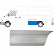 MERCEDES SPRINTER VW LT 1995-2006 LWB REPAIR PANEL AHEAD REAR WHEEL / LEFT LH