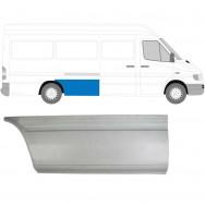 MERCEDES SPRINTER VW LT 1995-2006 LWB REPAIR PANEL AHEAD REAR WHEEL / RIGHT RH