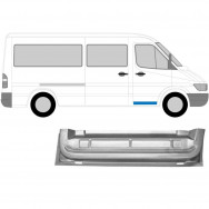 MERCEDES SPRINTER VW LT 1995-2006 FRONT DOOR INNER SECTION REPAIR PANEL / RIGHT