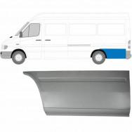MERCEDES SPRINTER VW LT 1995-2006 LWB REPAIR PANEL BEHIND REAR WHEEL / LEFT LH