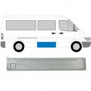 MERCEDES SPRINTER VW LT 1995-2006 SLIDING DOOR REPAIR PANEL / INNER SECTION