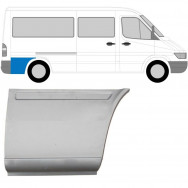 MERCEDES SPRINTER VW LT 1995-2006 MWB REPAIR PANEL BEHIND REAR WHEEL / RIGHT