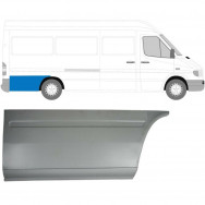 MERCEDES SPRINTER VW LT 1995-2006 LWB REPAIR PANEL BEHIND REAR WHEEL / RIGHT