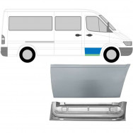 MERCEDES SPRINTER VW LT 1995-2006 FRONT DOOR REPAIR PANEL INNER + OUTER / RIGHT