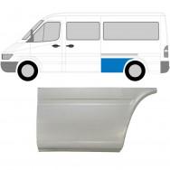MERCEDES SPRINTER VW LT 1995-2006 MWB REPAIR PANEL AHEAD REAR WHEEL / LEFT