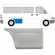 MERCEDES SPRINTER VW LT 1995-2006 MWB REPAIR PANEL AHEAD REAR WHEEL / RIGHT RH
