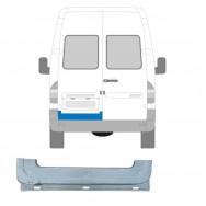 MERCEDES SPRINTER VW LT 1995-2006 REAR DOOR INNER REPAIR PANEL / LEFT LH