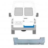 MERCEDES SPRINTER VW LT 1995-2006 REAR DOOR INNER REPAIR PANEL / RIGHT RH