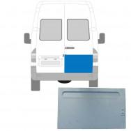 MERCEDES SPRINTER VW LT 1995-2006 REAR DOOR REPAIR PANEL HIGH / RIGHT RH