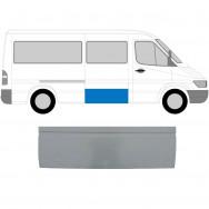 MERCEDES SPRINTER VW LT 1995-2006 SIDE REPAIR PANEL BEHIND DRIVER DOOR / RIGHT