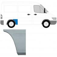 MERCEDES SPRINTER VW LT 1995-2006 SWB REPAIR PANEL AHEAD REAR WHEEL / RIGHT RH