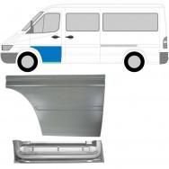 MERCEDES SPRINTER VW LT 1995-2006 FRONT DOOR REPAIR PANEL INNER OUTER / LEFT LH