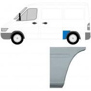 MERCEDES SPRINTER VW LT 1995-2006 SWB REPAIR PANEL BEHIND REAR WHEEL / LEFT LH