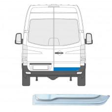 MERCEDES SPRINTER VW CRAFTER  2006- REAR DOOR REPAIR PANEL METAL STEEL PLATE RIGHT