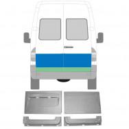 MERCEDES SPRINTER VW LT 1995-2006 4x REPAIR PANEL REAR DOOR OUTER + INNER / SET