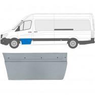 MERCEDES SPRINTER VW CRAFTER 2006 - FRONT DOOR OUTER REPAIR PANEL / LEFT LH