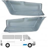 MERCEDES SPRINTER VW LT 1995-2006 FRONT INNER DOORSTEP REPAIR PANEL / PAIR