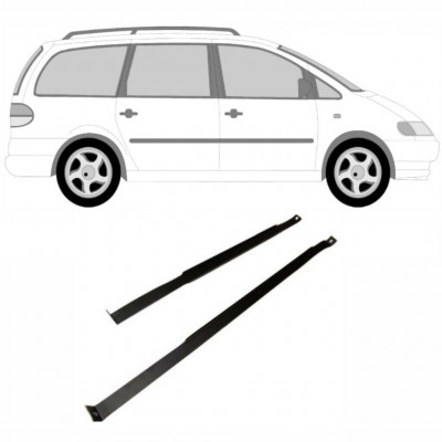 VW SHARAN F GALAXY 1995-2010 TANK STRAPS BRACKET / PAIR