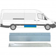 MERCEDES SPRINTER CRAFTER 2006- SLIDING DOOR REPAIR PANEL / SET OF 2  / RIGHT