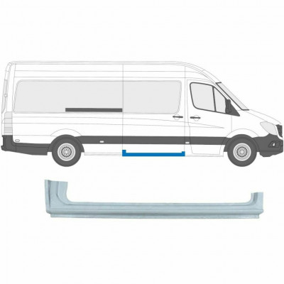 MERCEDES SPRINTER 2006- SLIDING DOOR SILL PANEL / RIGHT