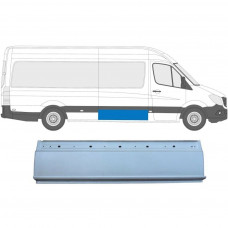 MERCEDES SPRINTER CRAFTER 2006- REPAIR PANEL BEHIND DRIVER DOOR / RIGHT RH