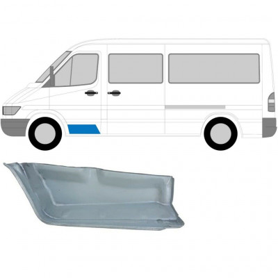 MERCEDES SPRINTER 1995-2006 FRONT INNER DOORSTEP / LEFT