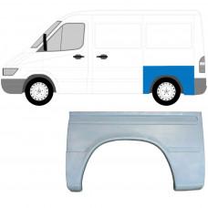 MERCEDES SPRINTER VW LT 1995-2005 SWB REAR WING REPAIR PANEL / LEFT LH