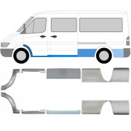 MERCEDES SPRINTER VW LT 1995-2006 REPAIR PANEL SET OF 10 PIECES MWB