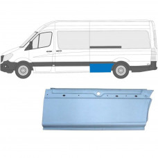 MERCEDES SPRINTER VW CRAFTER 2006- LWB XLWB REPAIR PANEL AHEAD REAR WHEEL / LEFT