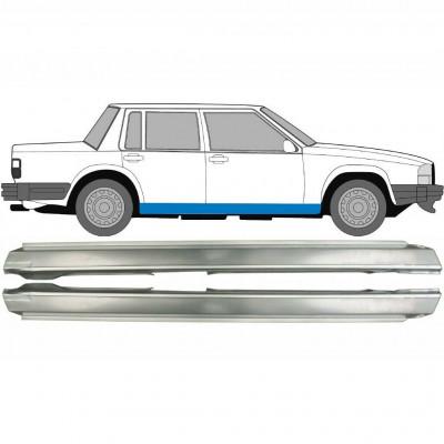 VOLVO 740 / 760 1982-1992 FULL SILL REPAIR PANEL ROCKER PANEL / SET OF 2 / PAIR