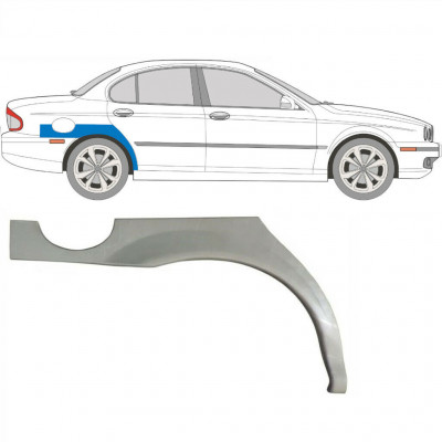 JAGUAR X-TYPE 2001-2009 REAR WHEEL ARCH / RIGHT